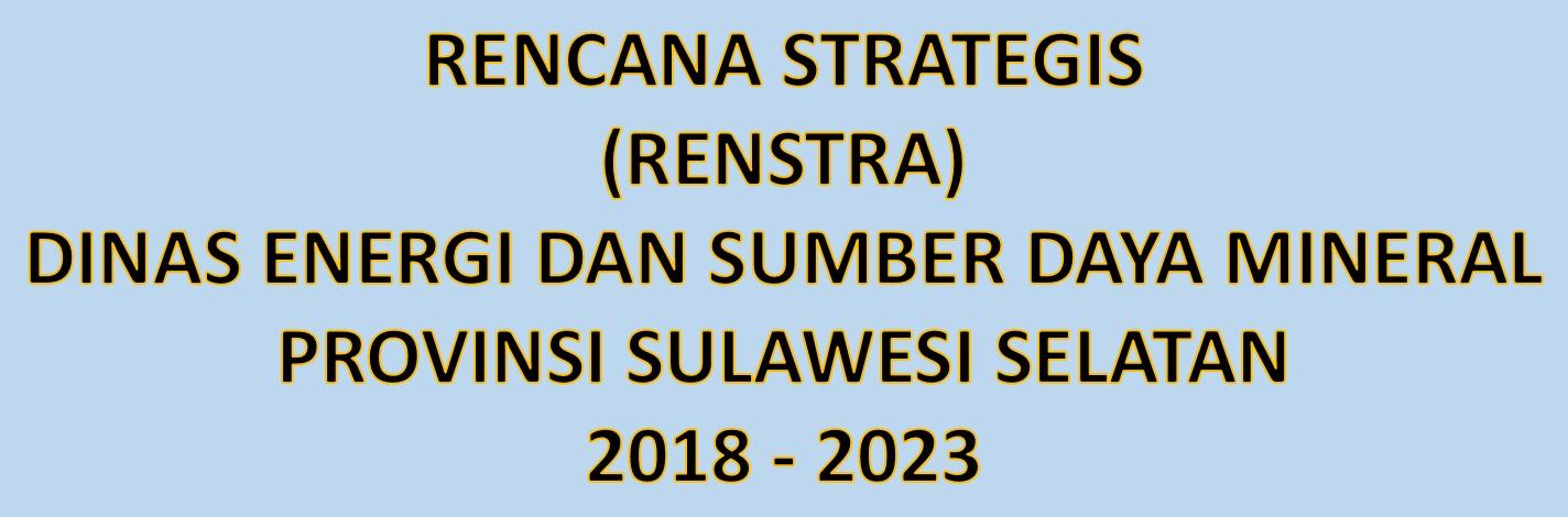 RENSTRA 2018-2023